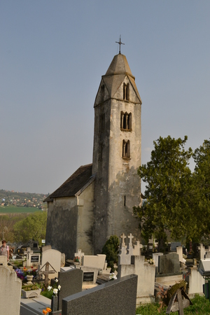 Church of St Magdalena from the Árpád era, Hévíz